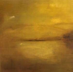 Encanto, 2005.  Óleo s/ tela 130 x 130cm